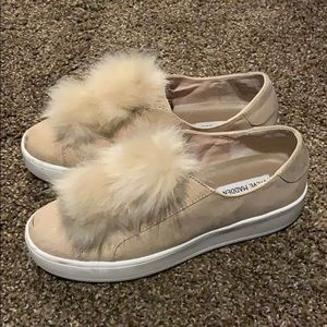 Steve Madden Bryanne puffball shoes